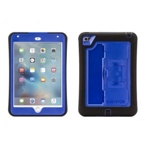 Griffin Survivor Slim Tablet for iPad mini 4 in Black/Blue/Blue
