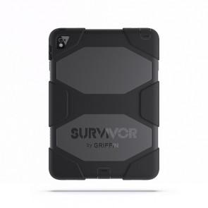 Griffin Survivor All Terrain Tablet for iPad Air 2, iPad Pro 9.7 in Black/Black/Black