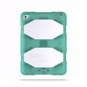 Griffin Survivor All Terrain Tablet for iPad Air 2, iPad Pro 9.7 in Chromium Green/Apple White/Apple White