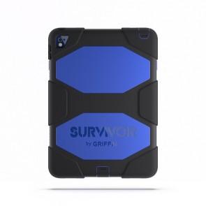 Griffin Survivor All Terrain Tablet for iPad Air 2, iPad Pro 9.7 in Black/Blue/Black