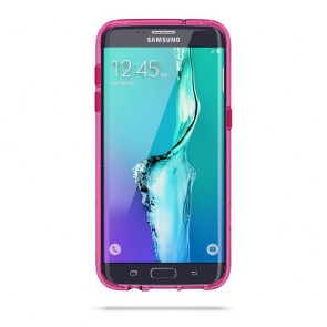 Griffin Survivor Clear for Samsung Galaxy S7 edge - PINK/WHITE/CLEAR