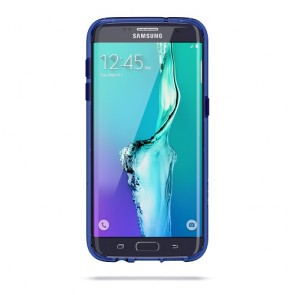 Griffin Survivor Clear for Samsung Galaxy S7 edge - BLUE/BLACK/CLEAR