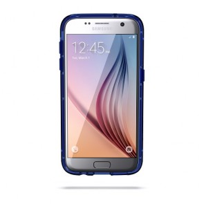 Griffin Survivor Clear for Samsung Galaxy S7 - BLUE/BLACK/CLEAR