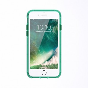 Griffin Survivor Clear for iPhone 7 - CHROMIUM GREEN/WHITE/CLEAR