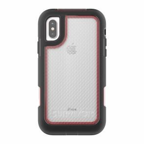 Griffin Survivor Extreme - Black/Red/Tint - iPhone X