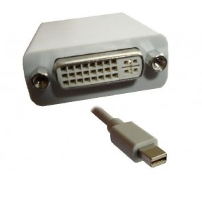 Professional Cable MDP-DVI Mini DisplayPort to DVI Cable - 6-Inch
