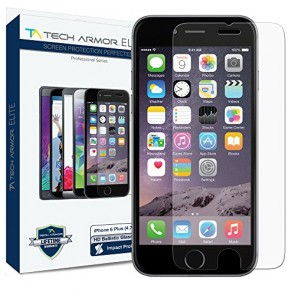 "Tech Armor ELITE Ballistic Glass Screen Protector for iPhone 6/6s PLUS (5.5"")"