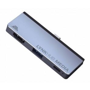 intelliARMOR LynkHUBMedia 4-in-1 USB C Hub