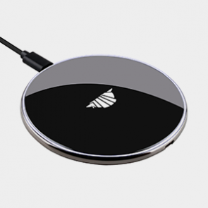 intelliARMOR AIR Charge QI 10W Wireless Charger - Black / Silver