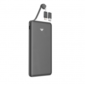 intelliARMOR intelliPOWER 10000mAh Powerbank Black