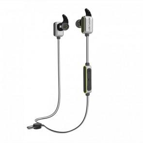 Braven Flye Sport Reflect Earbuds - Silver/Green
