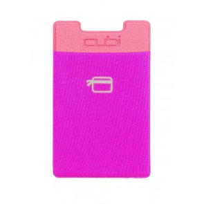 CardNinja Ultra-slim Self Adhesive Credit Card Wallet for Smartphones, Magenta
