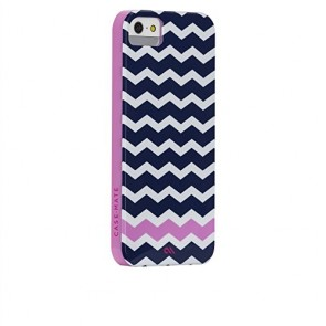 Case Mate Case-Mate iPhone 5 Barely There Prints - Ziggy Zag - Carrying Case - Retail Packaging - Clear