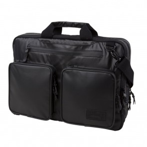 HEX Nero Expandable Briefcase Black Ripstop