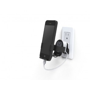 Felix - MonkeyOH Dock & Stand for iPhone/iPod/Smart Phones (Black-Gray)