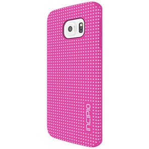 Incipio Highwire Carrying Case for Samsung Galaxy S6 Edge - Retail Packaging - Pink/Light Pink