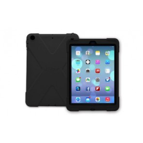 The Joy Factory aXtion Bold Military Grade, Rugged, Water-resistant, Shockproof, Ultra-Slim Case with Built in Heavy-Duty Screen Protector compatible with iPad Air, CWA201 (Black/Black)