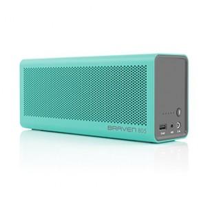 Braven 805 Wireless HD Bluetooth Speaker - Retail Packaging - Teal/Gray