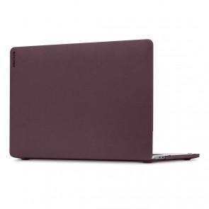 Incase Textured Hardshell in NanoSuede for 15-inch MacBook Pro - Thunderbolt 3 (USB-C) - Merlot