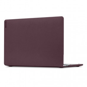 Incase Textured Hardshell in NanoSuede for 13-inch MacBook Air with Retina Display - Merlot