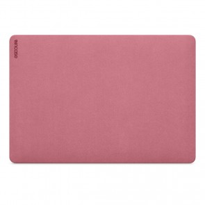 Incase Textured Hardshell in NanoSuede for 15-inch MacBook Pro - Thunderbolt 3 (USB-C) - Dark Pink