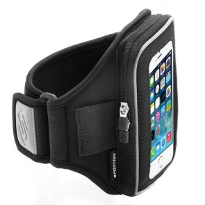 Velocity Series V1 Armband for iPhone 5s/5c/5 and iPhone 4s/4 (Black)