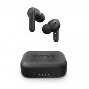 Urbanista London Active Noise Cancelling True Wireless Earbuds Midnight Black - Black