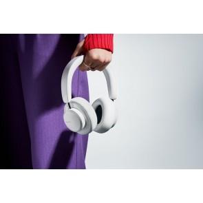 Urbanista Miami Active Noise Cancelling True Wireless Over-Ear Headphones White Pearl - White