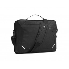 """STM Myth laptop brief 8L fits most 15-in screens and 16"""" MacBook Pro black"""
