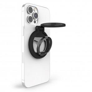 STM MagLoop - iPhone Finger Loop, stand and Bottle Opener - Black