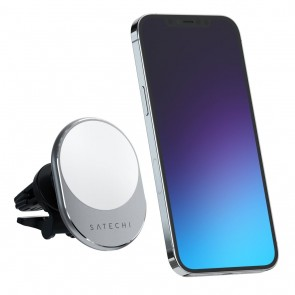 Satechi Magnetic Wireless Car Charger Space Gray