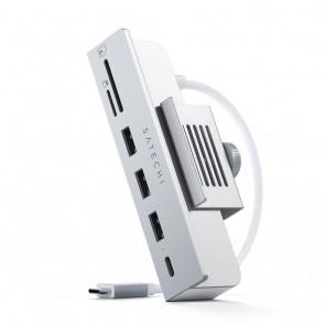 "Satechi USB-C Clamp Hub for 24"" iMac Silver"