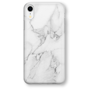 Recover White Marble iPhone XR case