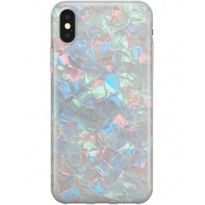 Recover Green Shimmer iPhone XR case