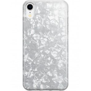Recover White Shimmer iPhone XR case