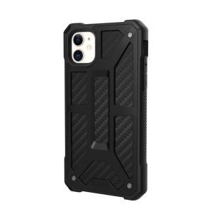 Urban Armor Gear Monarch Case For Apple iPhone 11 - Carbon Fiber