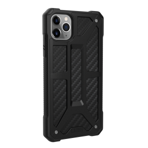 Urban Armor Gear Monarch Case For Apple iPhone 11 Pro Max - Carbon Fiber
