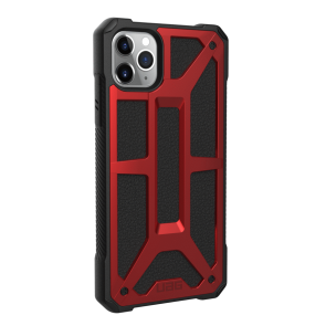 Urban Armor Gear Monarch Case For Apple iPhone 11 Pro Max - Crimson And Black