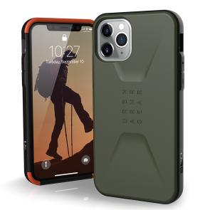 Urban Armor Gear  Civilian Case For iPhone 11 Pro Max - Olive Drab