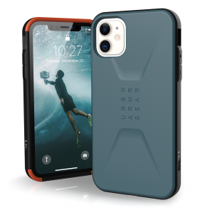Urban Armor Gear  Civilian Case For iPhone 11 - Slate