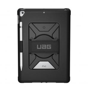 Urban Armor Gear  - Metropolis Case With Hand Strap For iPad 10.2 - Black