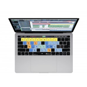 KB Covers Cubase  Keyboard Cover for MacBook Pro (Late 2016+) w/ Touch Bar