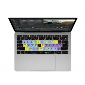 "KB Covers Final Cut Pro X Keyboard Cover for MacBook 12"" Retina & MacBook Pro 13"" (Late 2016+) No Touch Bar"