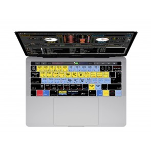 KB Covers Serato DJ - Scratch Live Keyboard Cover for MacBook Pro (Late 2016+) w/ Touch Bar