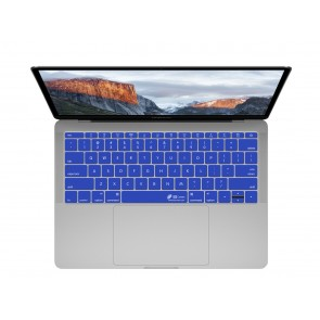 "KB Covers Dark Blue Keyboard Cover for MacBook 12"" Retina & MacBook Pro 13"" (Late 2016+) No Touch Bar"