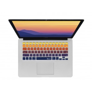 "KB Covers Sunset Keyboard Cover for MacBook 12"" Retina & MacBook Pro 13"" (Late 2016+) No Touch Bar"