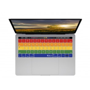 KB Covers Rainbow Keyboard Cover for MacBook Pro (Late 2016+) w/ Touch Bar