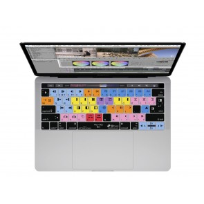 """KB Covers Avid Media Composer Keyboard Cover for MacBook Pro w/Magic Keyboard - 13"""" (2020+) & 16"""" (2019+)"""