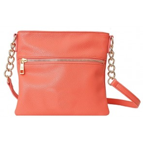 Chic Buds Crossbody - Coral