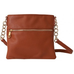 Chic Buds Crossbody - Brown